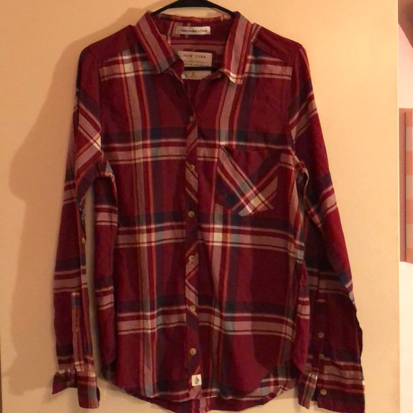 Abercrombie & Fitch Tops - Abercrombie flannel never worn.